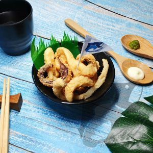 Cuttlefish Tentacle Cut karaage