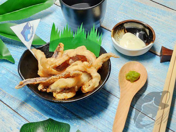 Soft Cuttlefish Wing Skin On Cut Karaage 1