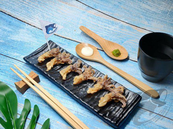 Squid Tentacle Karaage